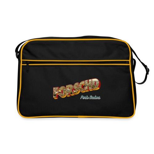 Forschd - Perle Badens - Vintage-Logo mit Luftbild - Retro Tasche