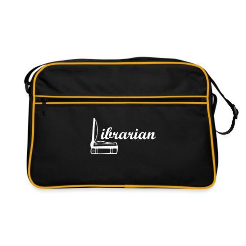 0325 Librarian Librarian Cool design - Retro Bag