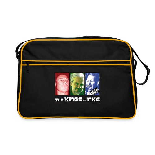 The Kings of Inks Explicit Music nur schwarz m jpg - Retro Tasche