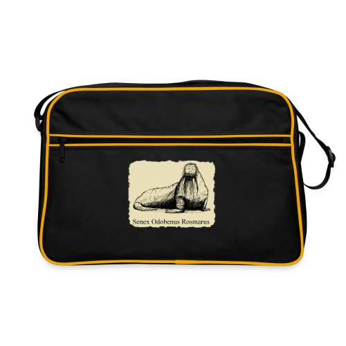 The Old Walrus - Retro Bag
