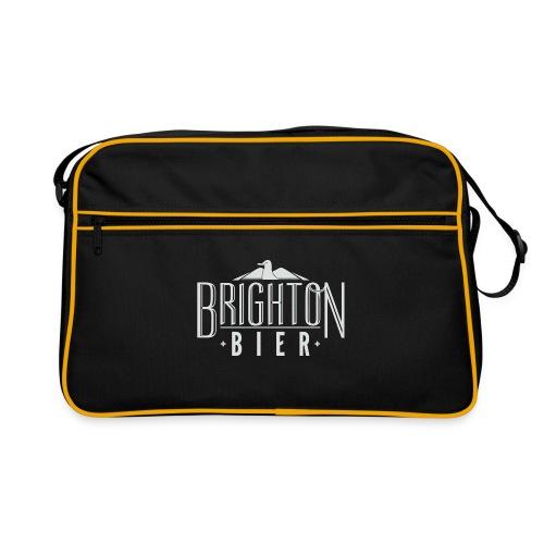 brighton bier logo white - Retro Bag