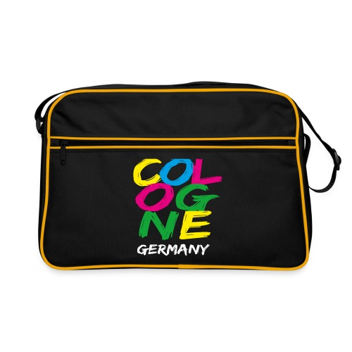 Colorful Cologne - Retro Tasche