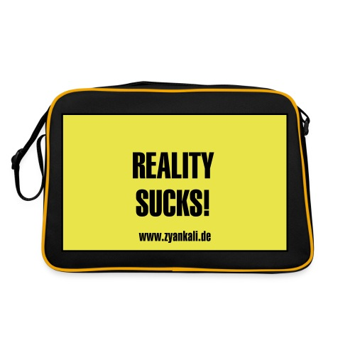 reality_sucks - Retro Tasche