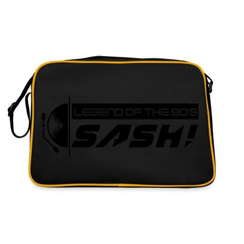 DJ SASH! Turntable 2020 Logo - Retro Bag