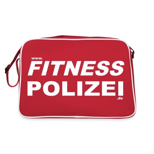 fitnesspolizeiweb - Retro Tasche