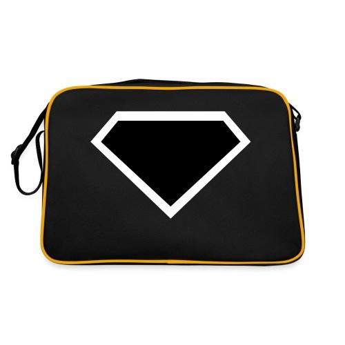 Diamond Black - Two colors customizable - Retro-tas