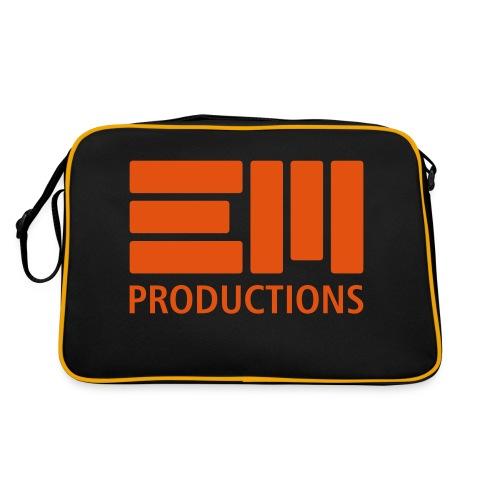 EM Productions Logo 2016 - Retro Tasche