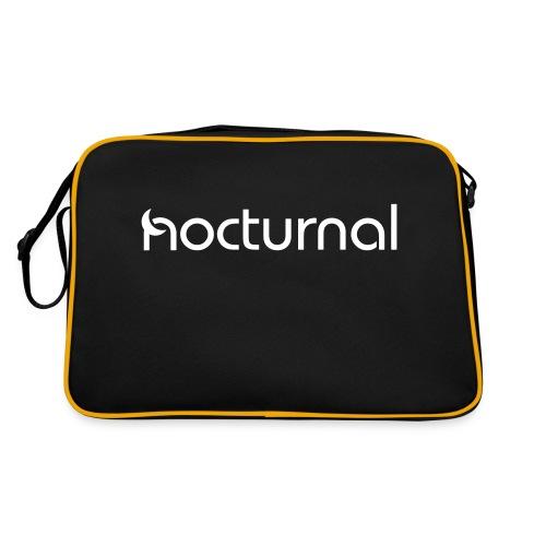 Nocturnal White - Retro Bag