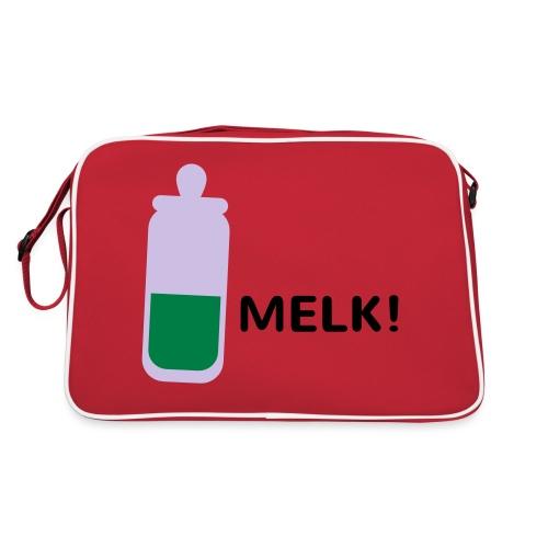 Grappige Rompertjes: Melk - Retro-tas