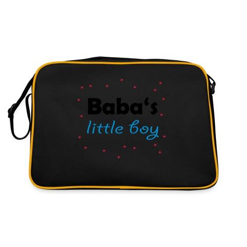 Baba's litte boy Babybody - Retro Tasche