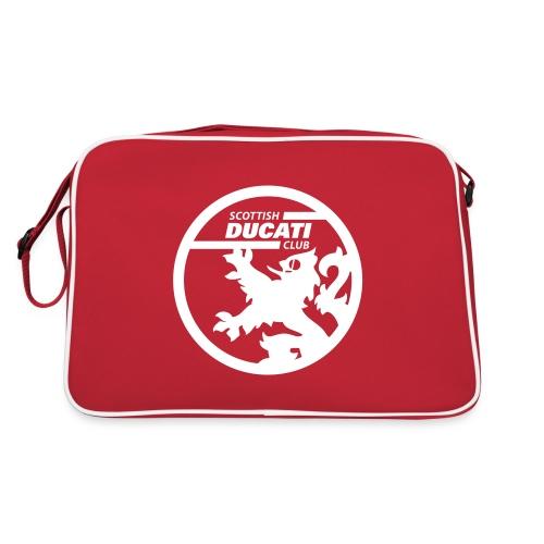 scd logo mono - Retro Bag