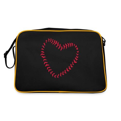 2581172 1029128891 Baseball Heart Of Seams - Retro Bag