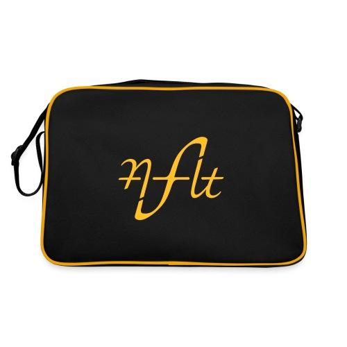 AFLT logo (white) - Retro Bag