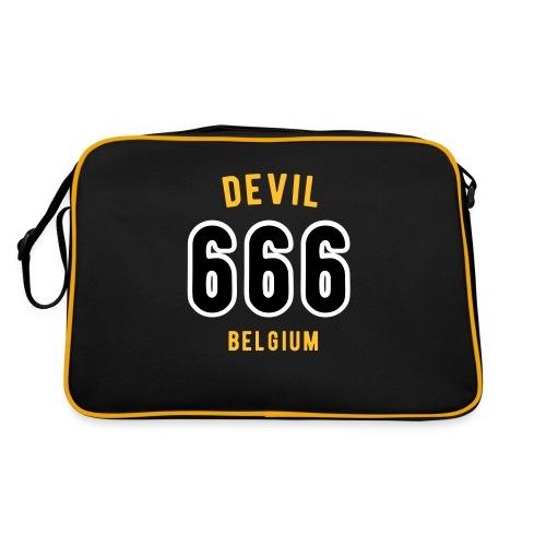 666 devil Belgium - Sac Retro