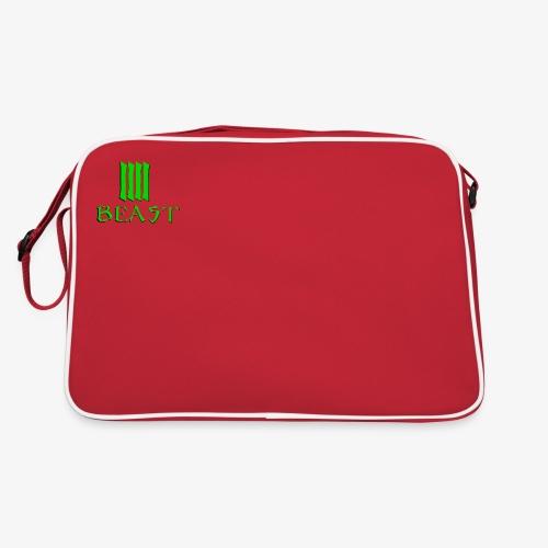 Beast Green - Retro Bag