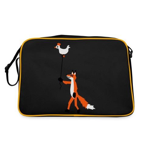 Fuchs und Henne - Retro Tasche