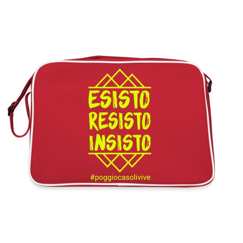 patch resisto - Borsa retrò