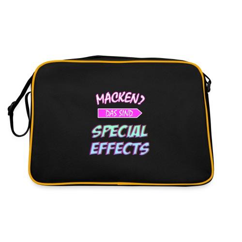 Macken? Das Sind Special Effects - Retro Tasche