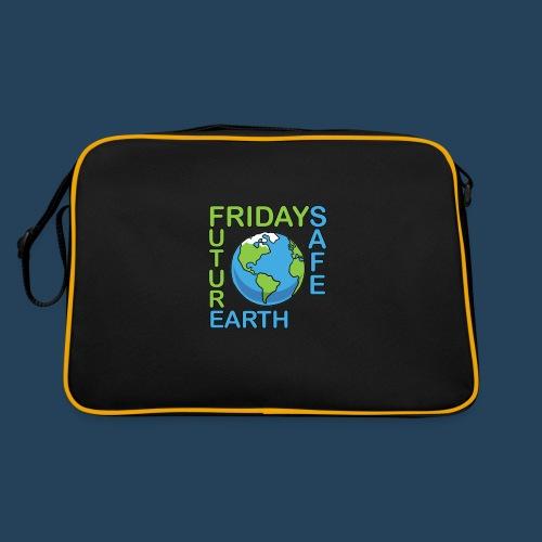 Safe Our Earth - Retro Tasche