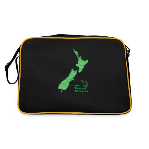 New Zealand's Map - Retro Bag