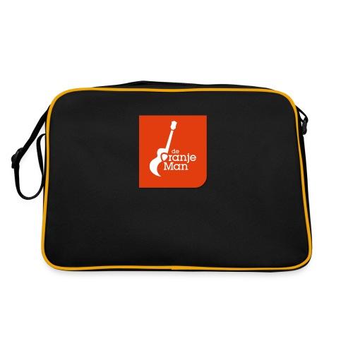 De Oranje Man Wilhelmus Hoekstra Logo Oranje Vlak - Retro-tas