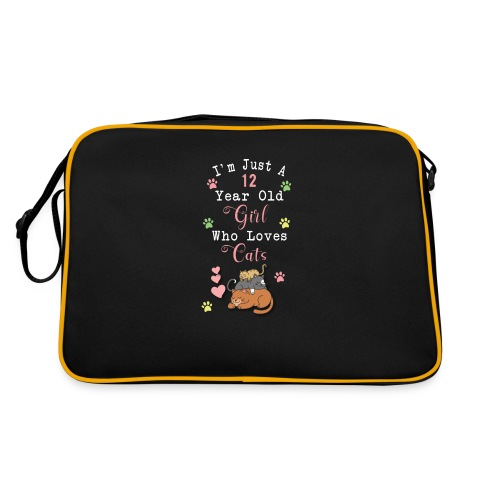 I'm just a 12 year old girl who loves cats - Sac Retro