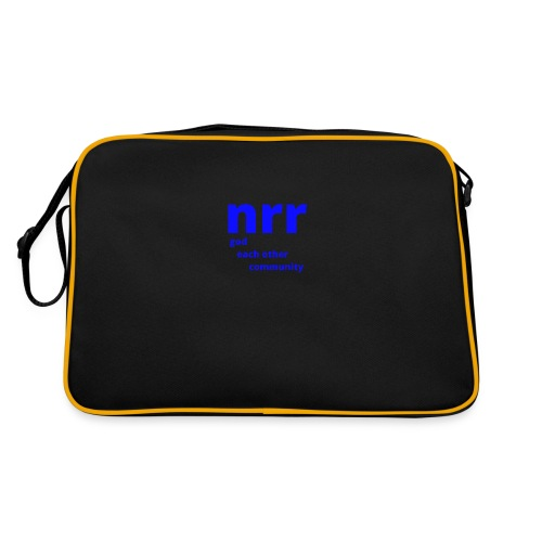 NEARER logo - Retro Bag