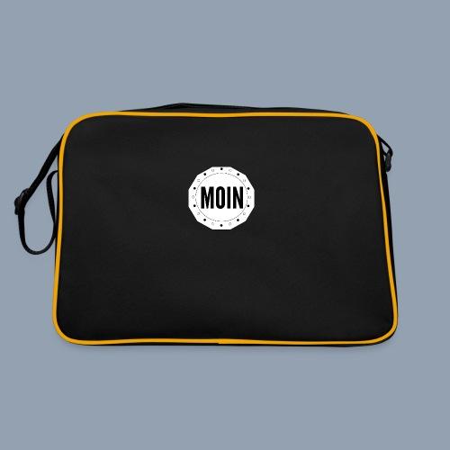Moin - typisch emsländisch! - Retro Tasche