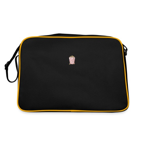 Popcorn trøje   ML Boozt   - Retro taske