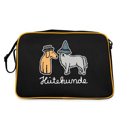 Hütehunde Hunde mit Hut Huetehund - Retro Tasche