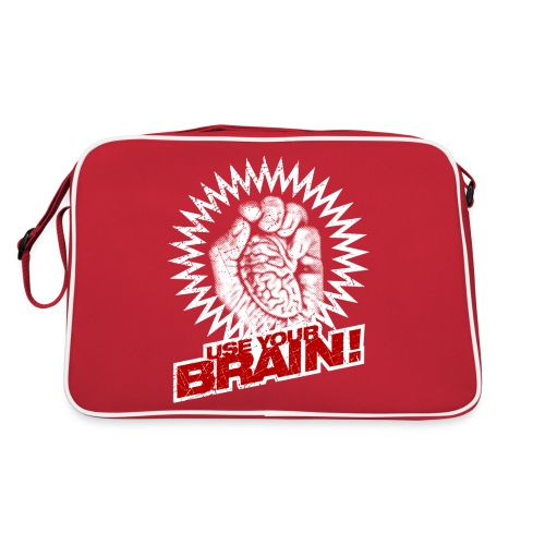 Use Your Brain! - Retro Tasche