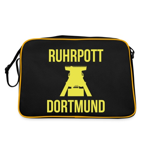 RUHRPOTT DORTMUND - Deine Ruhrpott Stadt - Retro Tasche