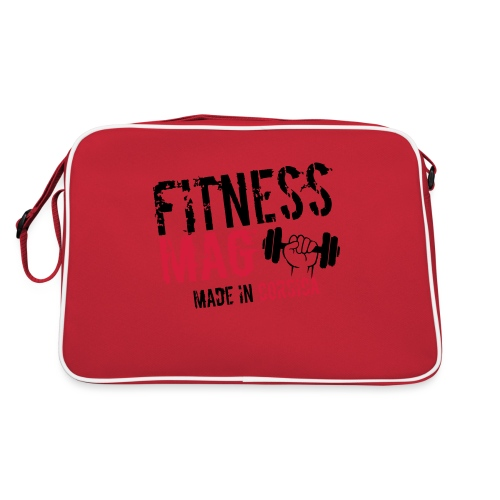 Fitness Mag made in corsica 100% Polyester - Sac Retro