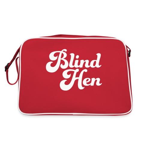 Blind Hen - Logo T-shirt, slim fit, black - Retro Bag