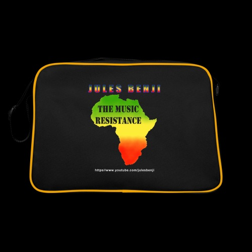 JULES BENJI & MUSIC RESISTANCE africa design - Retro Bag