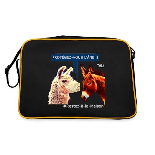 PROTEGEZ-VOUS L'ÂNE !! - Coronavirus - Retro Bag