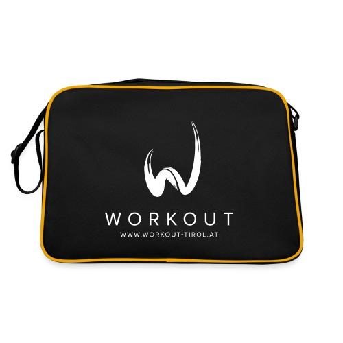 Workout mit Url - Retro Tasche
