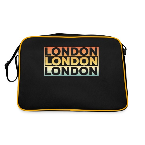 Vintage London Souvenir - Retro SehnsuchtLondon - Retro Tasche