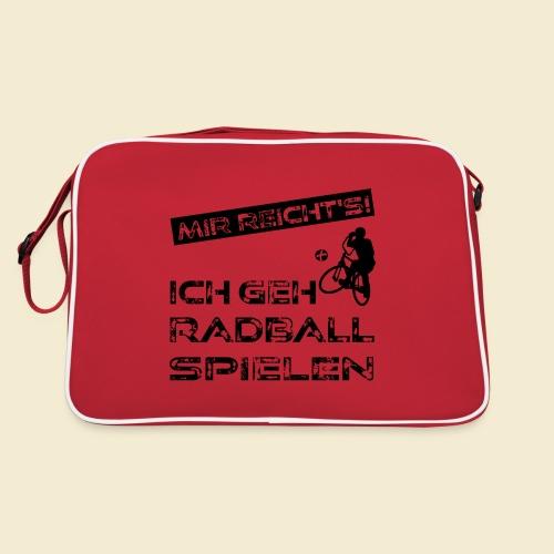 Radball | Mir reicht's! - Retro Tasche
