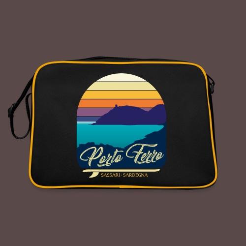 Porto Ferro - Vintage travel sunset - Borsa retrò