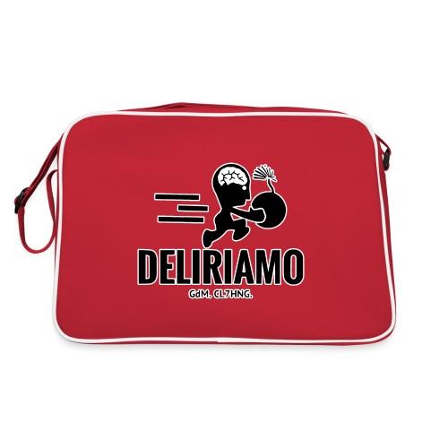 DELIRIAMO CLOTHING BRAINBOMB - Borsa retrò