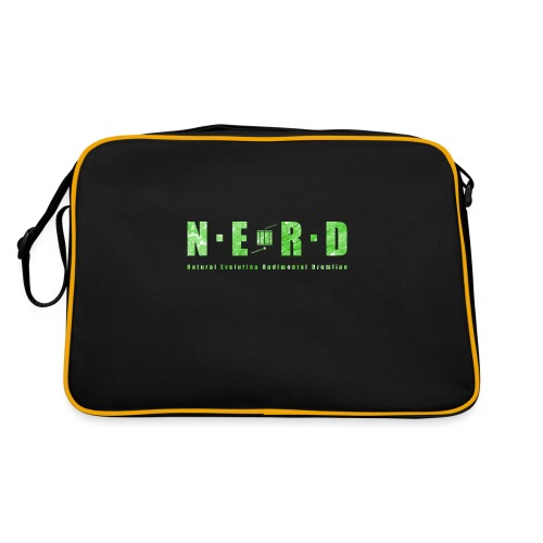 NERD Green - Retro taske