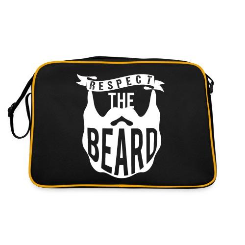 Respect The Beard - Retro Tasche