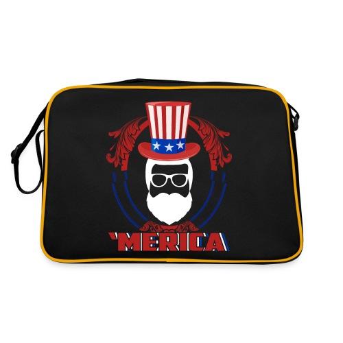 AMerica Beard - Retro Tasche