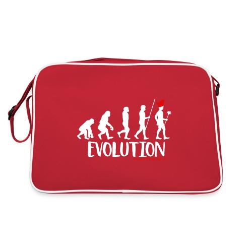 Die Evolution - Retro Tasche