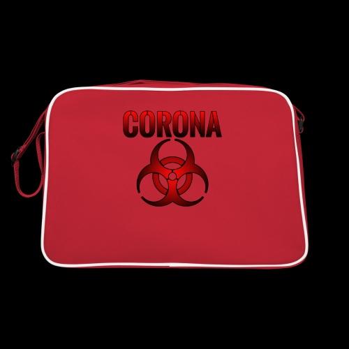 Corona Virus CORONA Pandemie - Retro Tasche