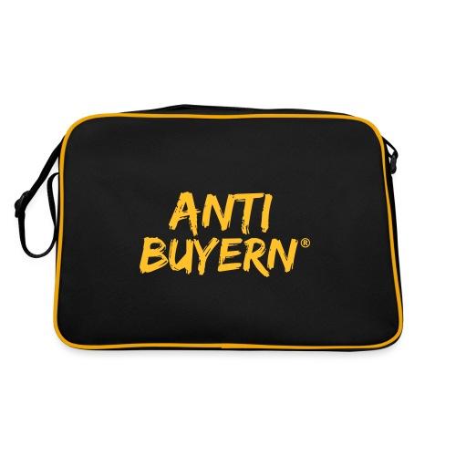 ANTI BUYERN YELLOW - Retro Tasche