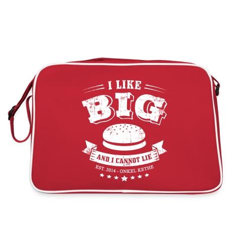 I Like Big Buns Shirt - Retro Tasche