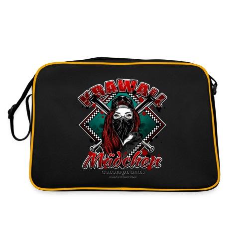 Krawallmädchen - Retro Tasche