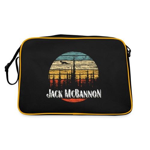 Jack McBannon - Forest Sundown - Retro Tasche